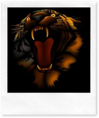Links to free tiger clipart