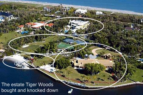 Tiger Woods House. The picture is believed copyright free.
